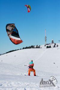 Snowkite weekend Feldberg met AntixSports