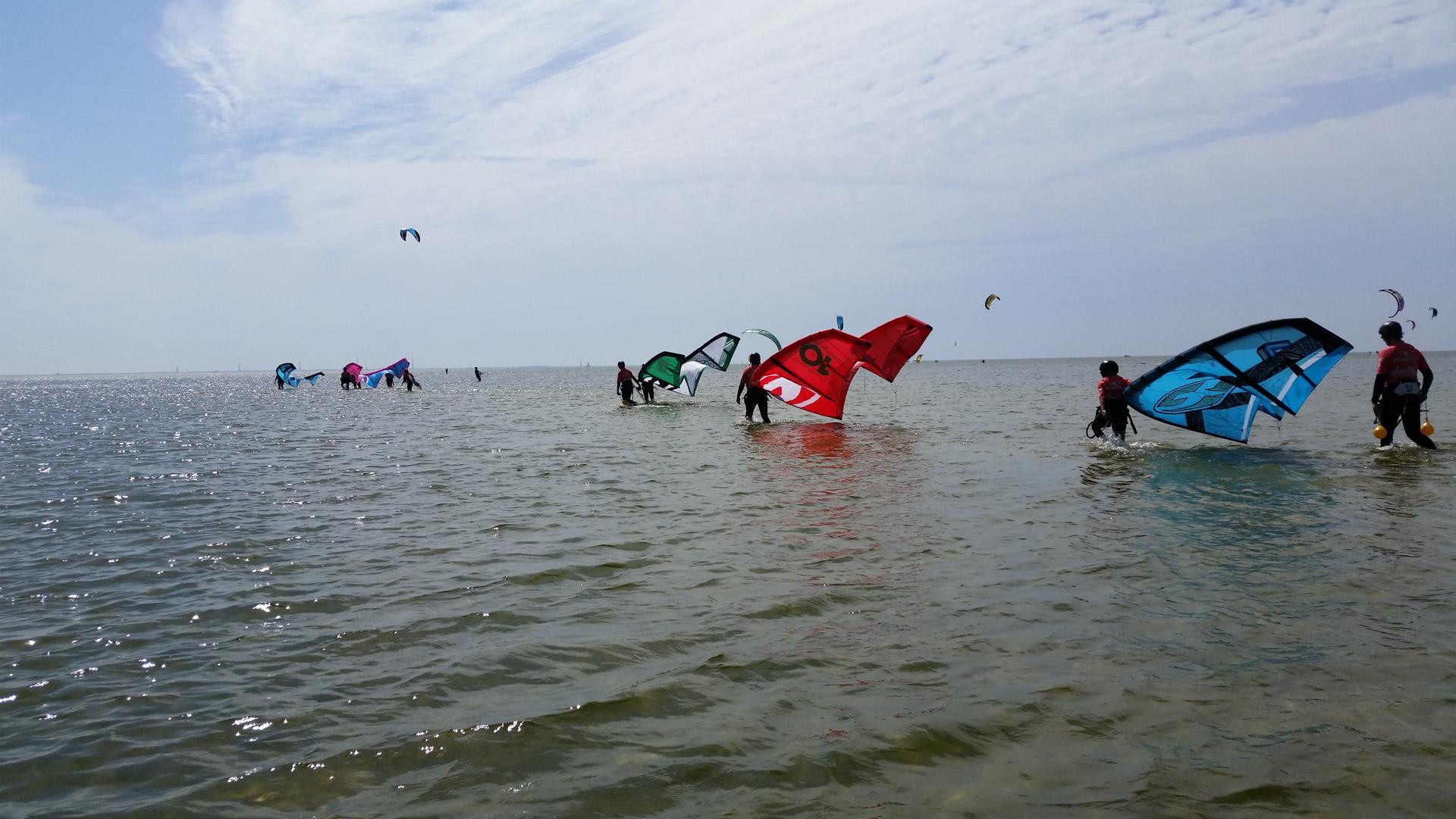 Kitesurf locatie Mirns