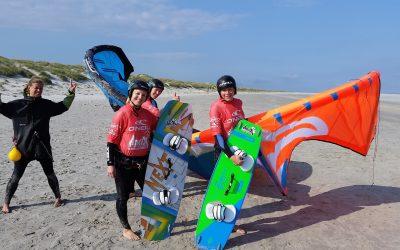 Kitesurf kampen in Nederland!